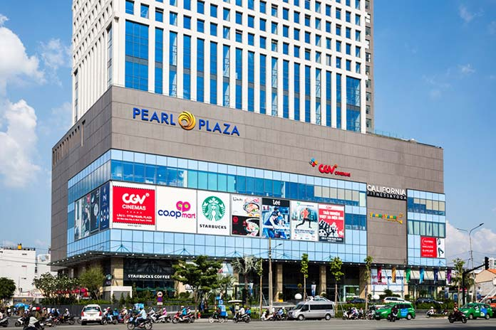 tòa nhà cho thuê văn phòng Pearl Plaza