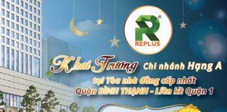 Khai trương chi nhánh văn phòng Replus Quận Bình Thạnh
