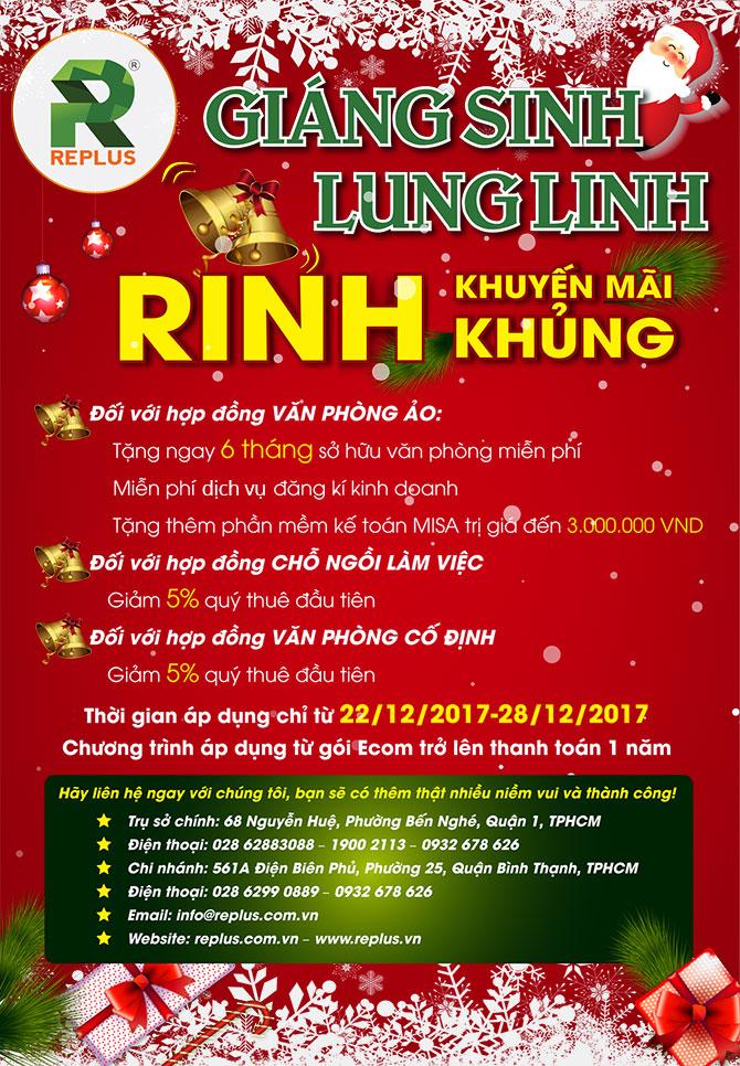 Giáng sinh lung linh - Rinh khuyến mãi khủng 2017 1
