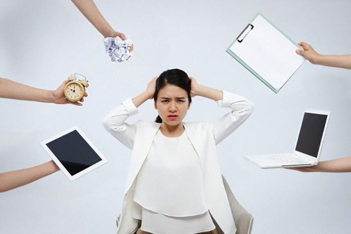 4 nguyên nhân gây ra áp lực công việc