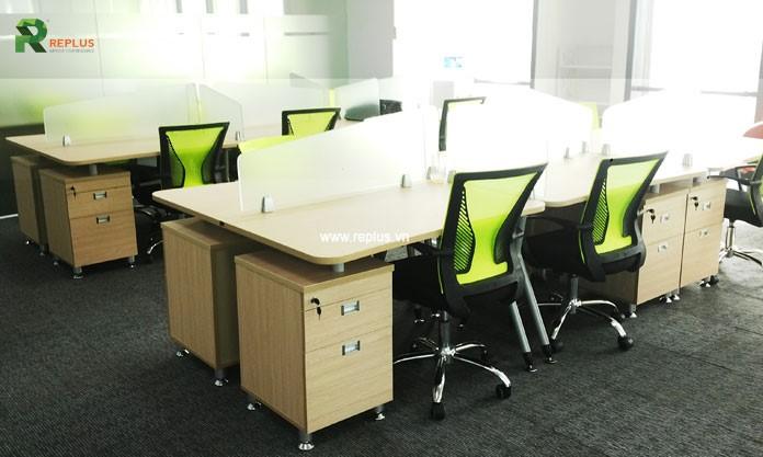 cải tiến không gian văn phòng làm việc
